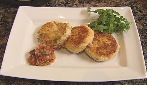 fish cakes three ways