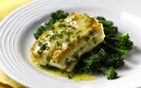 Easy Pan Fried Hake with Lemon and Herb Butter Sauce