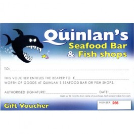 Seafood Vouchers