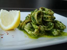 squid pesto