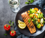BBQ Grilled Salmon