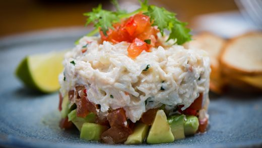 Quinlan's Crab Salad.Photo Joleen Cronin
