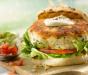 Fish Burgers with Tomato Salsa and Chunky Guacamole