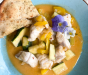 Thai Red Monkfish Curry