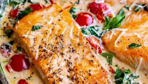 Creamy-Tuscan-Salmon-30-Minute-Dinner-2